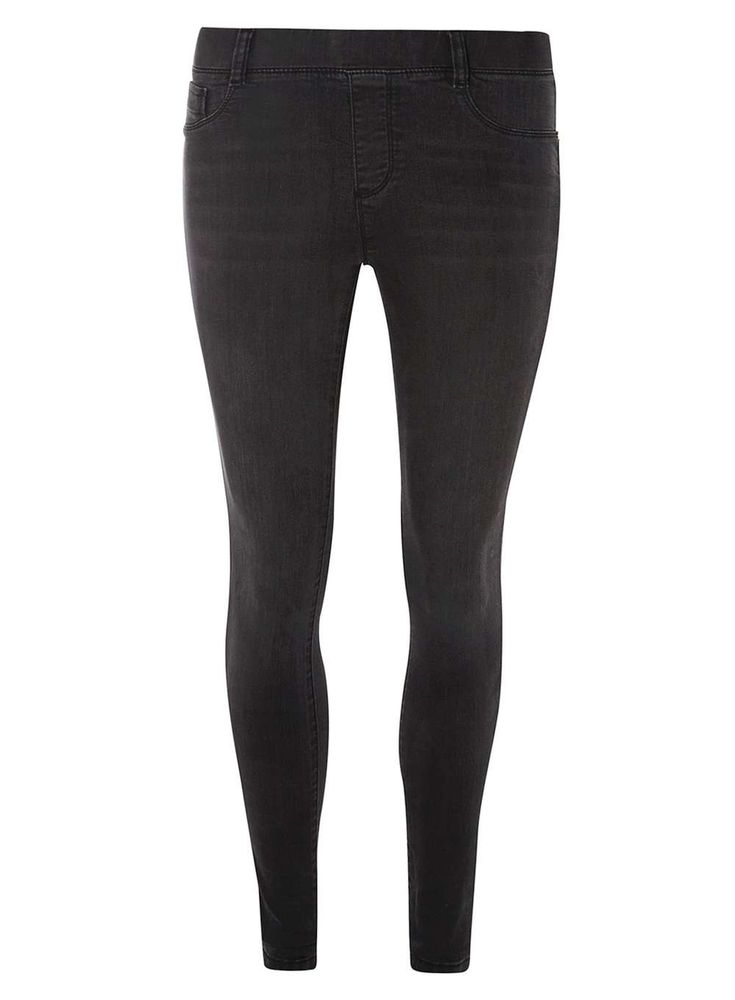 Womens Wash Black 'Eden' Ultra Soft Jeggings- Black