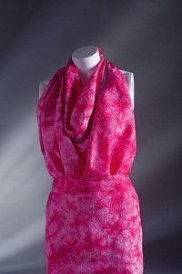 Creative Company | 50 Silk Scarves: Hot pink crush