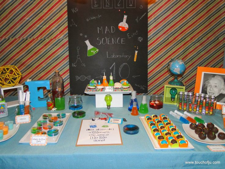 Mad Science Party  Cientista Maluco Einstein Party