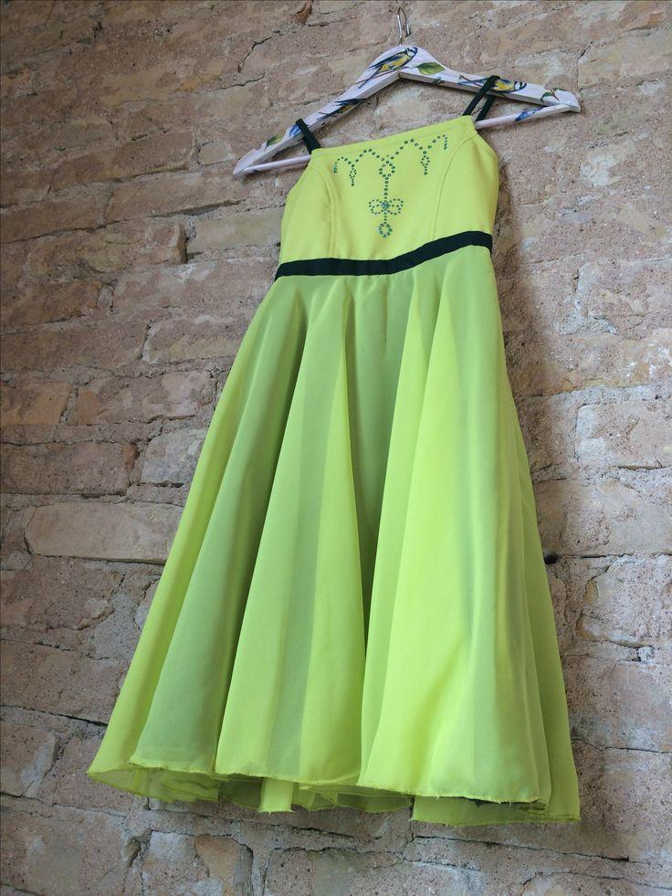 Princess dress, bridesmaid dress, girls twirl dress, birthday dress, toddler birthday dress, green dress, flower girl dress, dress with swarovski