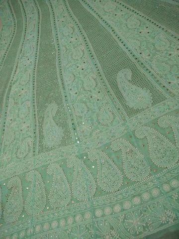 Hand Embroidery Anarkali