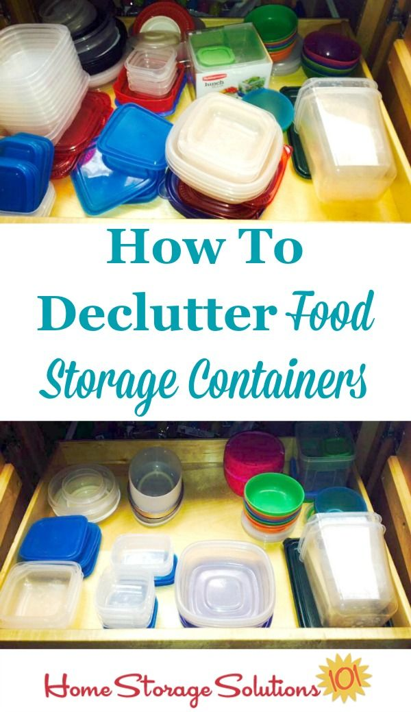 Declutter Food Storage Containers 15 Minute Mission