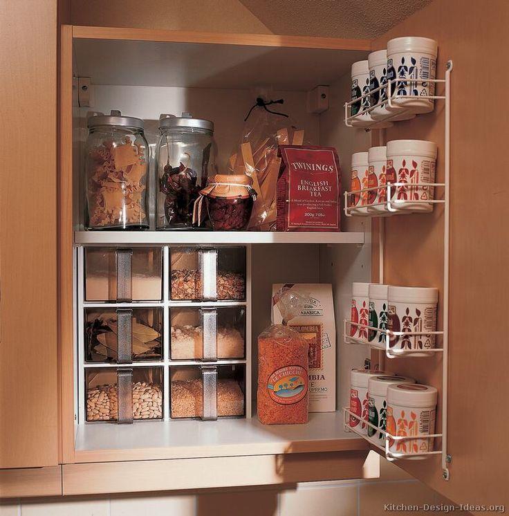 Kitchen Cabinet Organization Ideas 362 Best Kitchen Organizing Images On Pinterest Kitchen Remodel Small Kitchen Storage Kitchen Design Kitchen Cabinet Storage