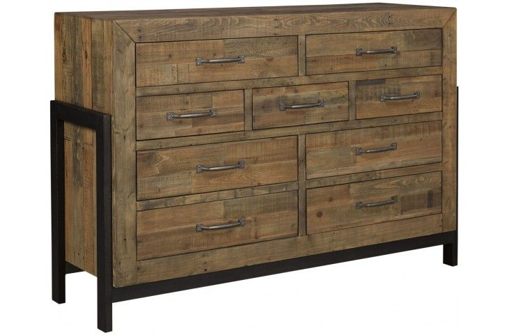 Sommerford Brown Dresser from Ashley | Coleman Furniture