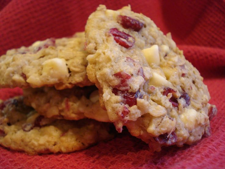 White Chocolate Oatmeal Craisin Cookies I Loved This Type Of Cookie When I Worked At