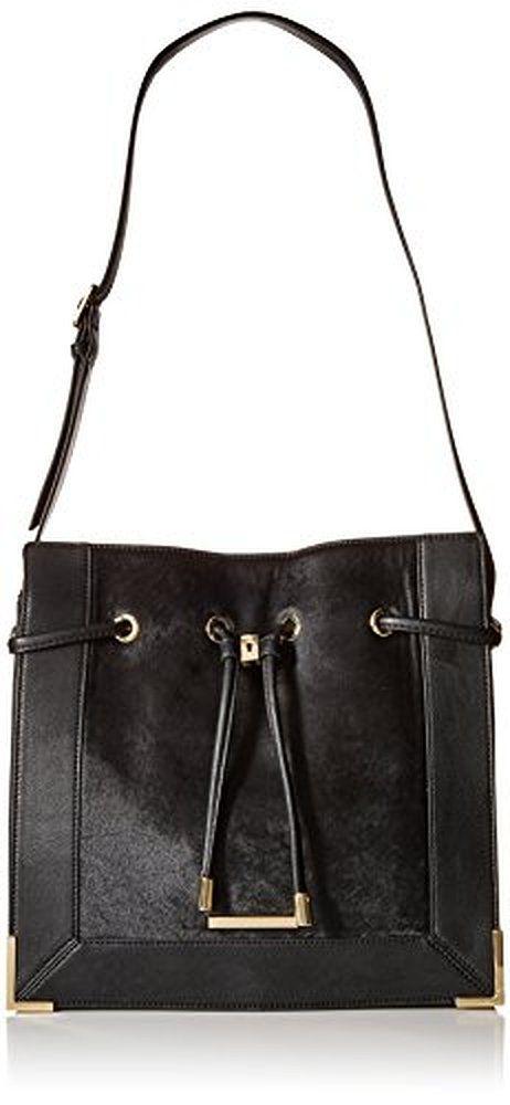 Nine West City Chic Leather Torra Shoulder Bag