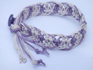 Maremi's Small Art: Bransoletki makramowe / Macrame bracelets