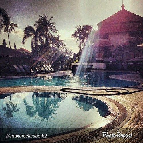 Good morning, sunshine!  Location: White Rose Kuta Resort, Villas & Spa  Photo by @maxineelizabeth2  #bali #indonesia #sunislandbali #fun #travelling #travel #whiterosebali #sun #sunshine #instapassport #instagood  (at www.sunislandbali.com)