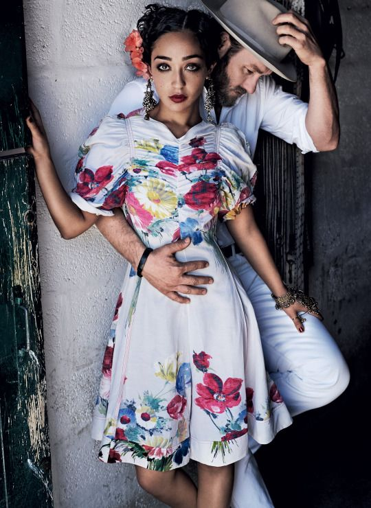 Ruth Negga and Joel Edgerton for VOGUE