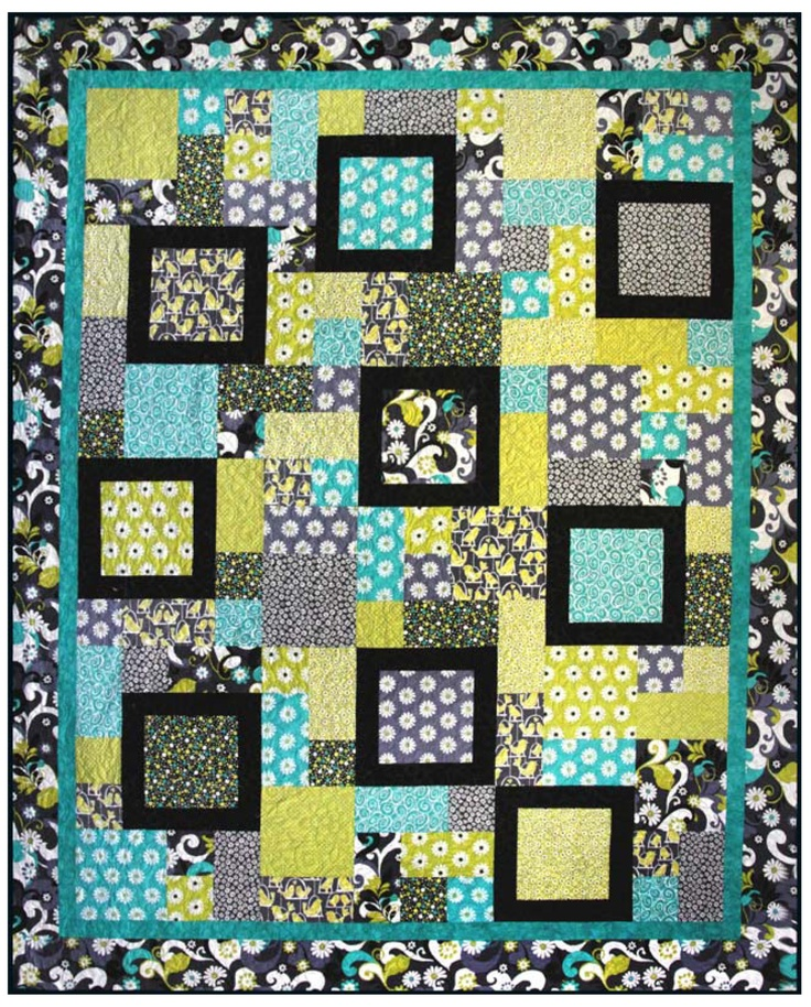 Quilt Pattern Using Focus Fabric : 22 best focus fabric quilts images on Pinterest Carpets, Crafting and Html