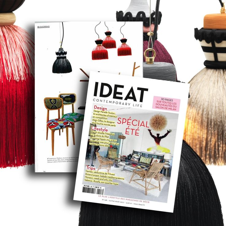 Ideat, French Magazine for the Contemporary Life, features the lamp MADAMA by Mogg / Design by Cristina Celestino. Definitely a contemporary lifestyle http://www.mogg.it/Prodotti/Lamp/MADAMA/ #mogg #moggdesign #madama #cristinacelestino #moggdesign #italiandesign #interior #design #italianfurniture #lightingdesign #lamp #magazine #ideat