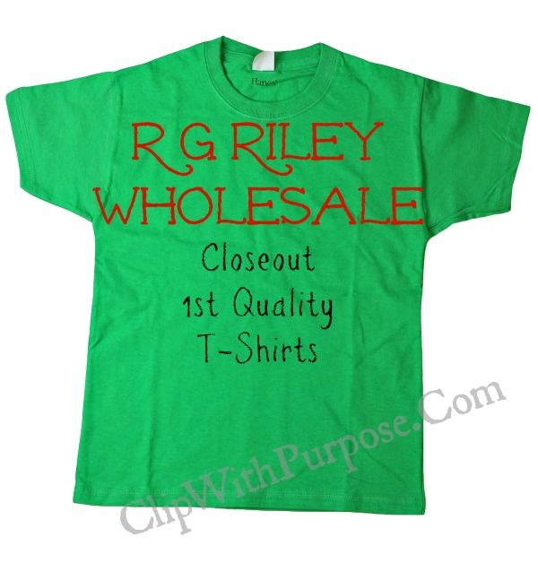 Good prices on t-shirts: R G Riley Wholesale T-Shirts