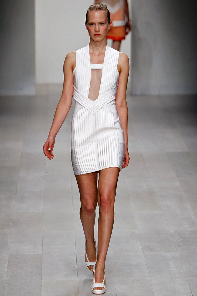 @David_Koma #catwalk #LFW #SS_2013 #white #trends  #in