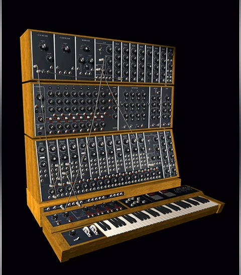 Moog Modular. --All Monkee maniacs know why this was pinned  ;-)