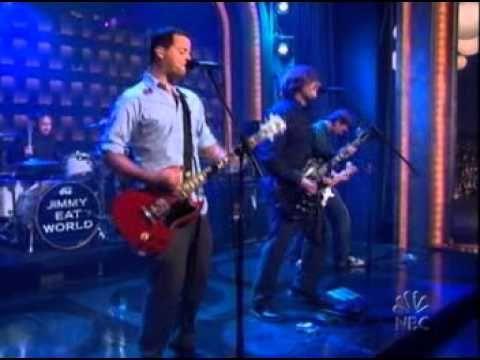 Jimmy Eat World - Pain (live on conan)