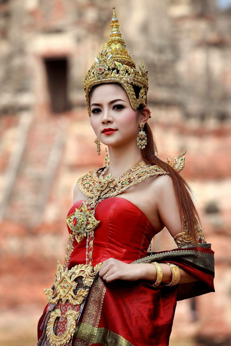 #thaidress #thaicostume #costumethai #asian #asianlady #lady #angel #thailand