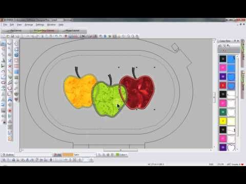 BERNINA Embroidery Software 6 - Partial Applique - Tool Tip 9