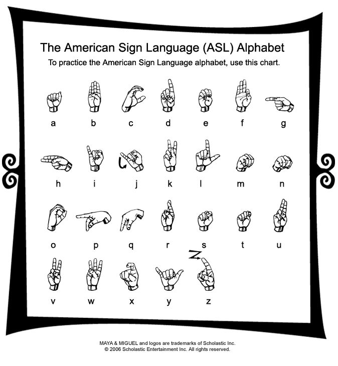 Best American Sign Language Images On   American