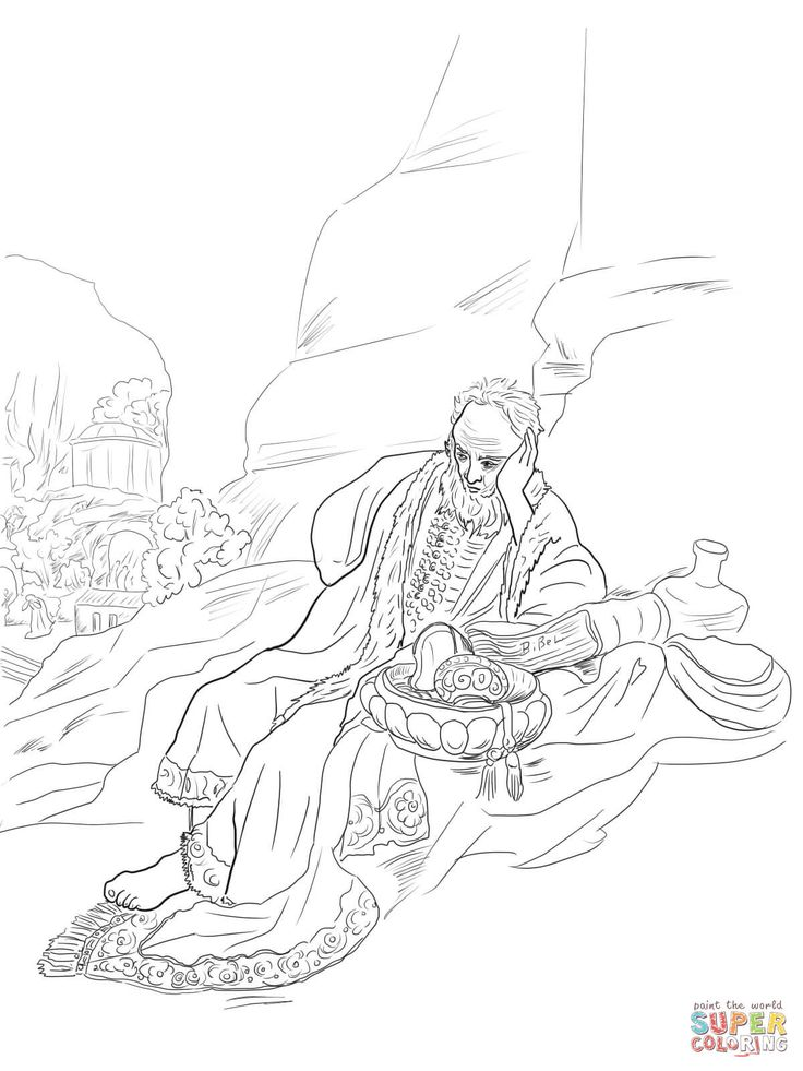 rembrandt coloring pages - photo#9
