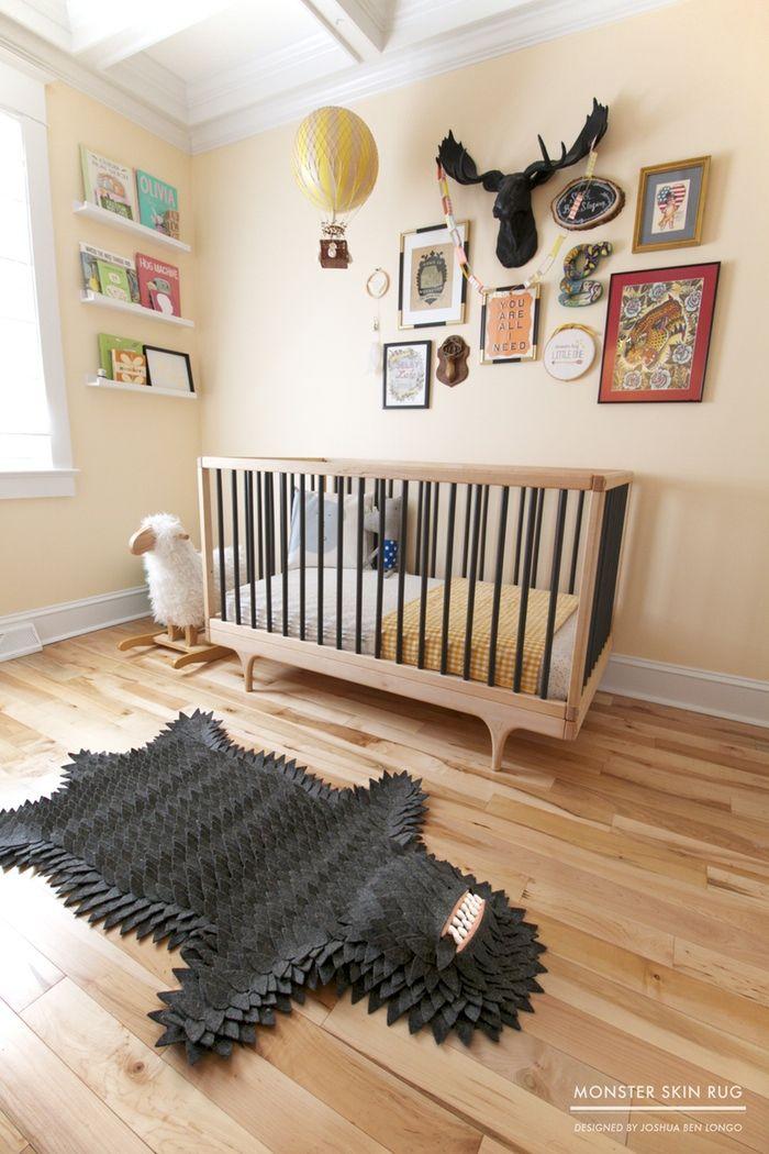 Een monster in de babykamer! -famme.nl #interior www.famme.nl