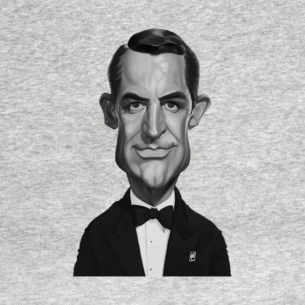 Check out this awesome 'Cary+Grant' design on @TeePublic! art | decor | wall art | inspiration | caricature | home decor | idea | humor | gifts