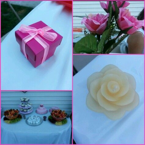Bridal shower-pretty in pink