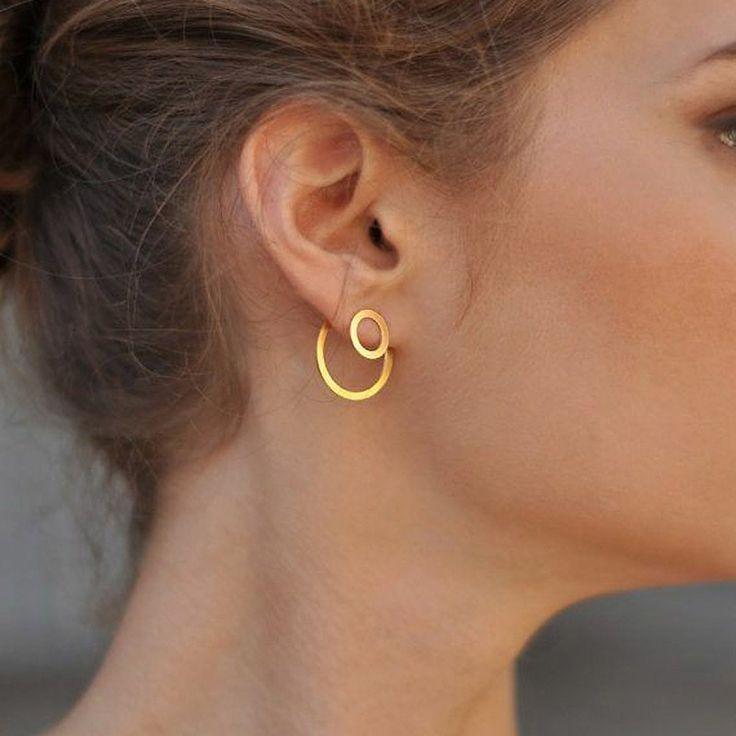 Ustar geometric star metal stud earrings jewelry earrings hanging oorbellen accessories gift