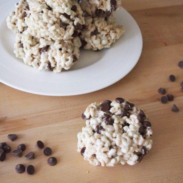 Rice Krispies Chocolate Chip Cookie  Easy to make gluten