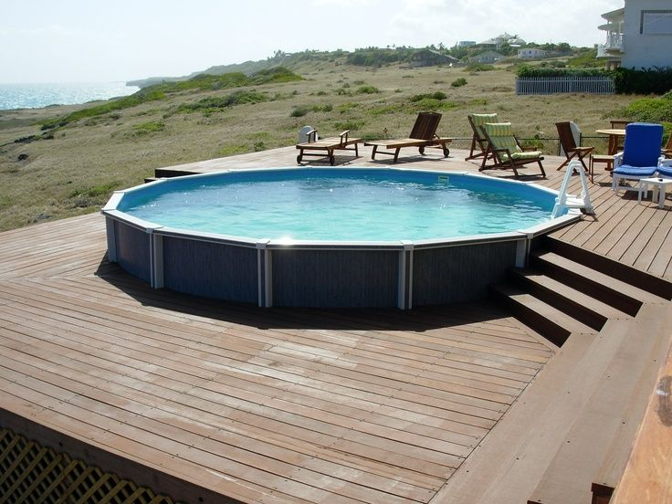 1000 images about beautiful above ground pools on for Best looking above ground pools