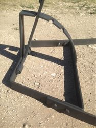 Asado Cross with Adjustable Base 60 X 24
