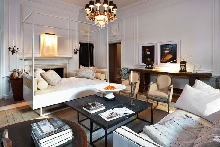 Darryl Carter's dreamy living Room at the 2014 Kips Bay Decorator's Show House
