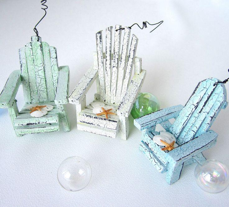 Beach chair ornaments !