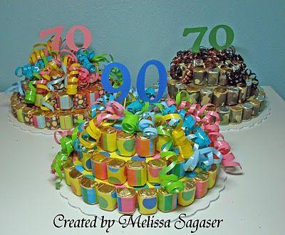 Creative Treasures: January 2010 - hershey nugget birthday cake.