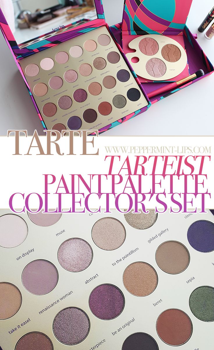 Fall Beauty Steal: Tarte Cosmetics Tarteist Paint Palette Collector's Set Review