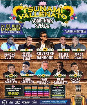 Tsunami Vallenato – Medellin   ticketshop.com.co