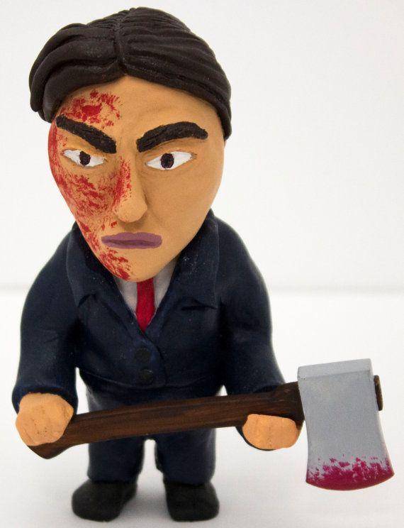 American Psycho Figure by LightningSculpts on Etsy