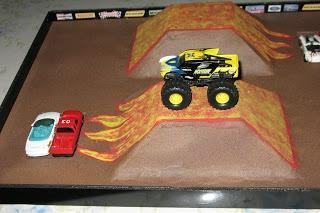 Monster Truck Jam track idea