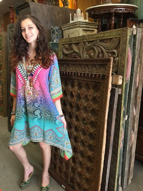 Womens Louar Caftans Bohemian Style Beach Cover Up Y Kimono C