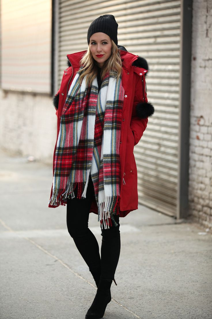 Parka: Moose Knuckles | Jeans: Current/Elliott | Scarf: ASOS (similar here and here) | Boots:...