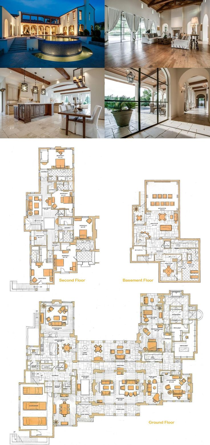 3956 best Floor plans JG images on Pinterest | Apartments, House ...