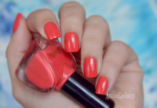 Anna Galaxy: Faberlic Лак для ногтей CC 9 в 1 Умный цвет 7345 коралловый рай
