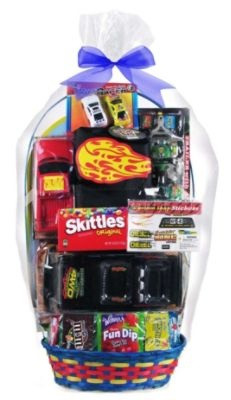 14 best cars easter baskets images on pinterest easter baskets the ultimate easter basket for any little boy is here packed negle Images