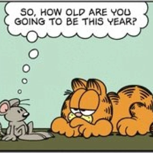 June 19, 1978, Garfield's Birthday Will Soon Be Here...So How Old Are You Going to Be This Year?