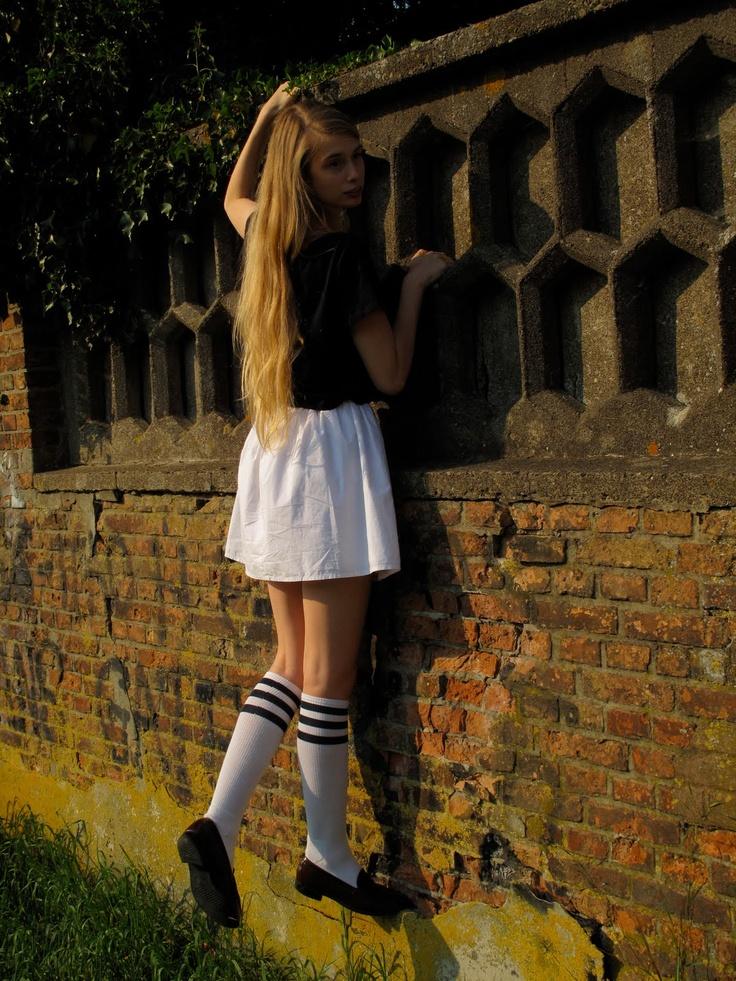Skirt Penny Loafers Amp Knee Socks