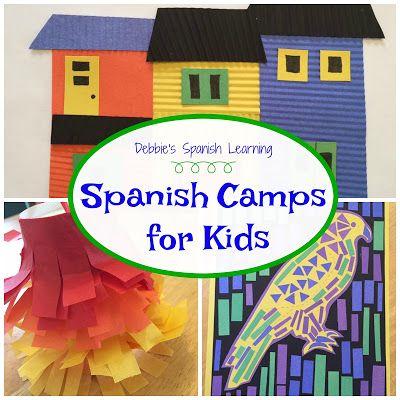 Debbie's Spanish Learning: Spanish Camp Ideas