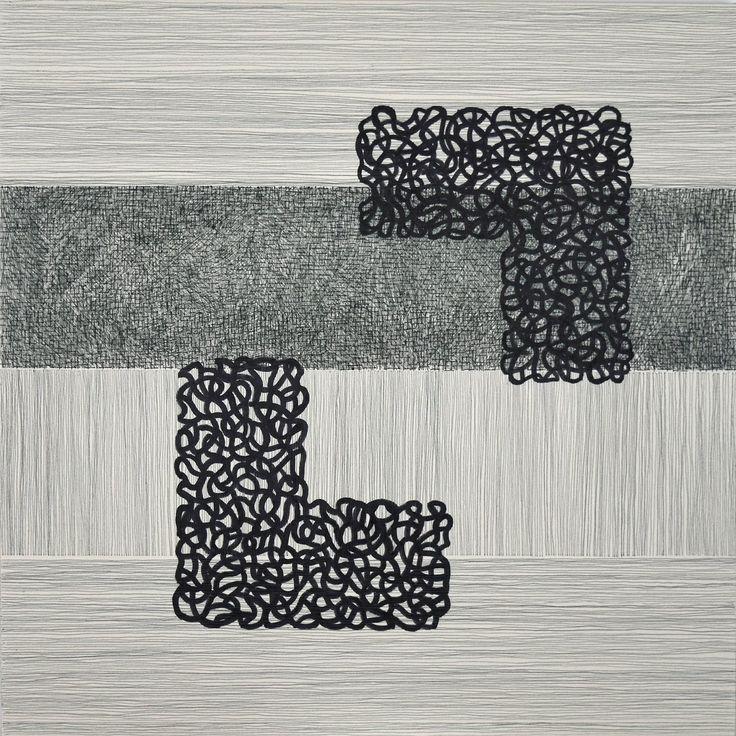 Figures et lignes / Dominique Lutringer #ART #Contemporary ART