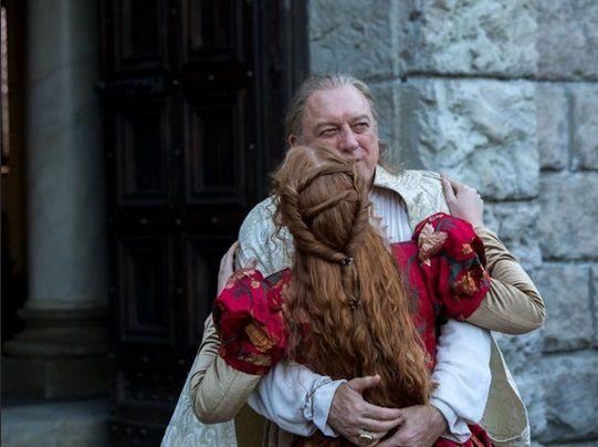 Isolda Dychauk as Lucrezia Borgia John Doman as Rodrigo Borgia