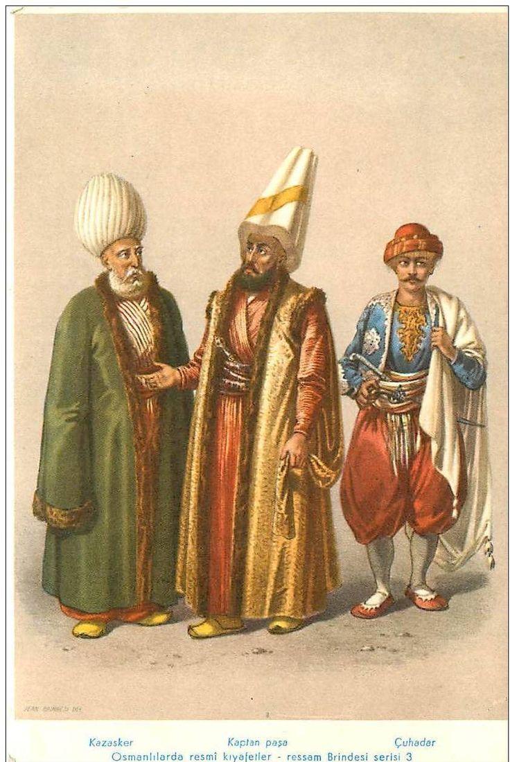 Kazasker (Kadi El Asker) - Kaptan Paşa-Çuhadar