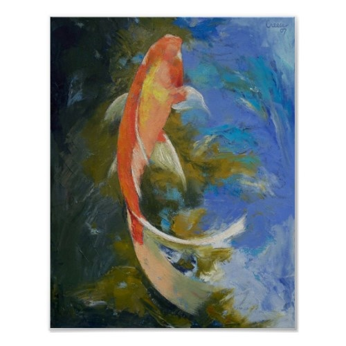 21 best images about reference gold fish on pinterest for Koi prints canvas