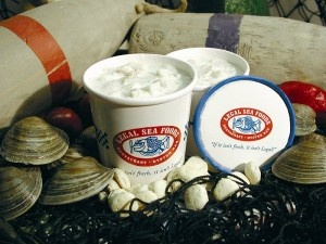Legal Seafood Clam Chowder